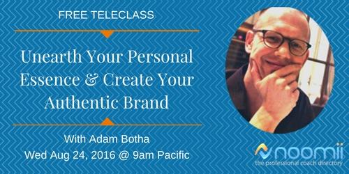 branding webinar with adam botha