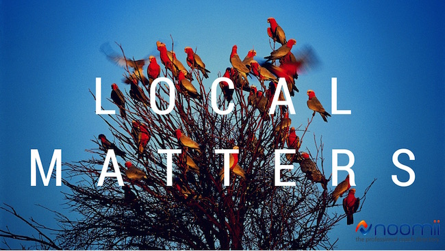 local matters in-person, face-to-face coaching