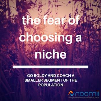 fear of choosing a niche banner