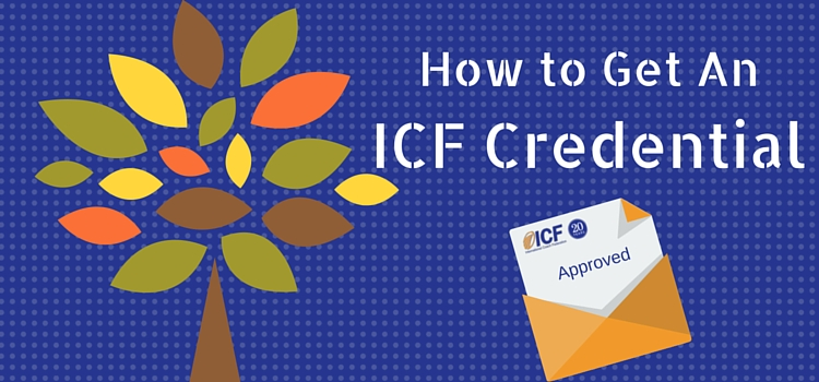 how to get ICF credential banner