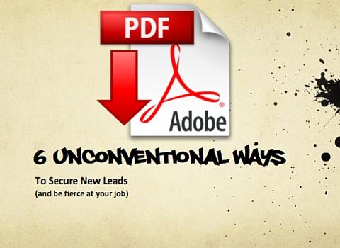 download slides: 6 unconventional ways to get clients